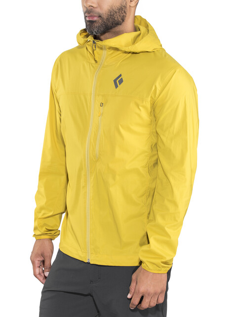Black Diamond Alpine Start Hoody Men Ochre